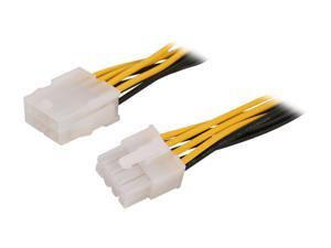 StarTech.com EPS8EXT 8 in. EPS 8 Pin Power Extension Cable Female to Male