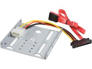 StarTech.com 2.5 Inch SATA Hard Drive to 3.5 Inch Drive Bay Mounting Kit (BRACKET25SAT)