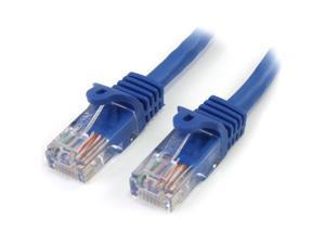 StarTech.com RJ45PATCH25 25 ft. Cat 5E Blue Network Cable