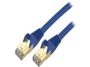StarTech.com C6ASPAT14BL 14 ft. Cat 6 Blue Shielded Network Cable