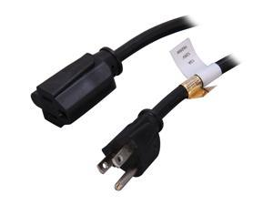 StarTech.com PAC10110 10ft Power Cord Extension - NEMA 5-15R to NEMA 5-15P