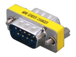 StarTech.com GC9SM Slimline Serial DB9 Gender Changer - M/M