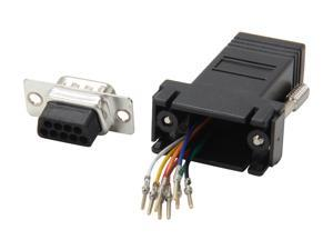 StarTech.com GC98MF DB9 to RJ45 Modular Adapter - M/F