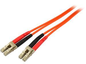 StarTech.com FIBLCLC2 6.56 ft. Multimode 62.5/125 Duplex Fiber Patch Cable LC - LC