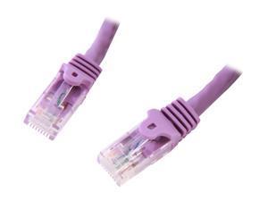 StarTech.com N6PATCH25PL 25 ft. Cat 6 Purple Snagless Cat6 UTP Patch Cable - ETL Verified