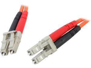 StarTech.com 50FIBLCLC1 3.3 ft. Multimode 50/125 Duplex Fiber Patch Cable LC - LC