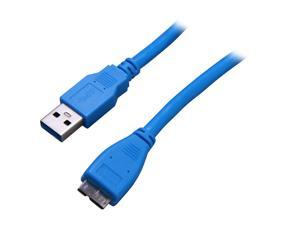 StarTech.com USB3SAUB3 Blue SuperSpeed USB 3.0 Cable A to Micro B