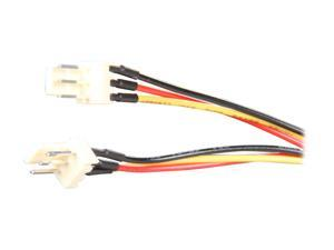 "StarTech TX3SPLITTER 6"" TX3 Fan Power Splitter Cable Female to Male"
