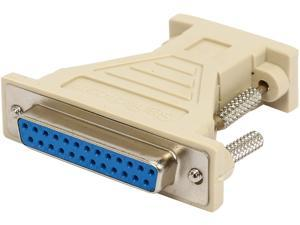 StarTech.com AT925FF DB9 to DB25 Serial Cable Adapter - F/F