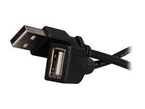StarTech.com USBEXTAA10BK 10 ft Black USB 2.0 Extension Cable A to A - 10ft USB 2.0 Extension Cable - 10ft USB male female Cable