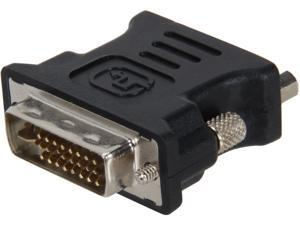 StarTech.com DVIVGAMFBK DVI to VGA Cable Adapter - Black - M/F - DVI-I to VGA Converter Adapter