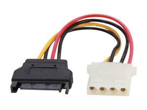 StarTech.com LP4SATAFM6IN 6 in. 6in SATA to LP4 Power Cable Adapter - F/M Female to Male