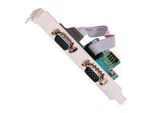 StarTech.com ICUSB232INT2 Motherboard Serial Port - Internal - 2 Port - Bus Powered - FTDI USB to Serial Adapter - USB to RS232 Adapter