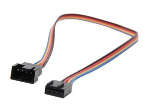 "StarTech FAN4EXT12 12"" 4 Pin Fan Power Extension Cable - F/M Female to Male"