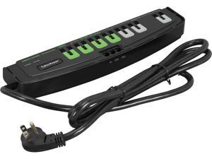 CyberPower CSP706TG 6 Feet, 7 Outlets, 2250 Joules Surge Suppressor