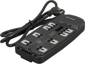 CyberPower CSP806T 6 Feet, 8 Outlets, 2250 Joules Surge Protector