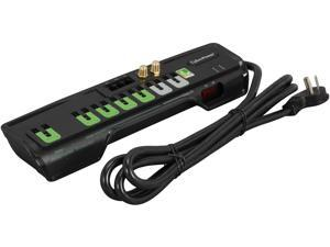 CyberPower CSHT706TCG 6 Feet, 7 Outlets, 2250 Joules Surge Suppressor