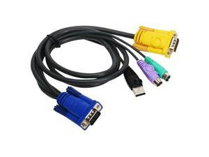 Iogear PS/2-USB KVM Cable - 6ft
