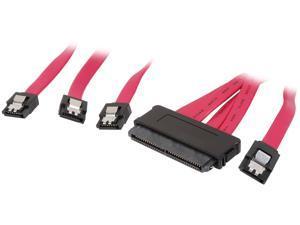 "Tripp Lite Model S502-01M 39.37"" 4-in-1 Internal SAS Cable"
