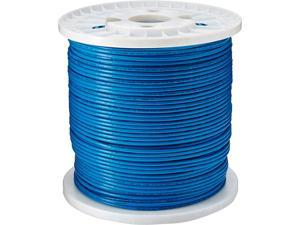 Tripp Lite Cat6 Gigabit Bulk Solid PVC Cable - Blue, 1000-ft. (N222-01K-BL)
