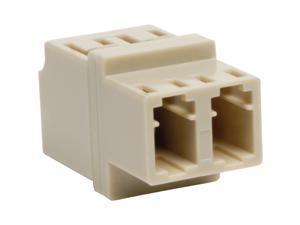 Tripp Lite Duplex Multimode Fiber Optic Coupler, LC/LC