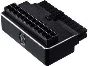 Cooler Master Universal ATX 24 Pin 90° Adapter , w/ added capacitors for stable power output for Power Supply