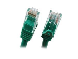 BYTECC C6EB-25G 25 ft. Cat 6 Green Enhanced 550MHz Patch Cables
