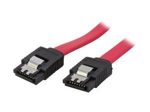 BYTECC SATA-118C 1.5 ft. Serial ATA-150/300 Cable w/ Locking Latch