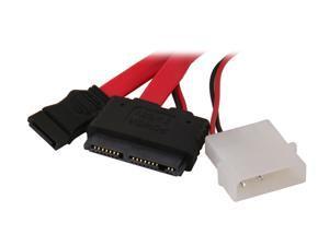 BYTECC SATA-MP118 1.5 ft. SATA and Micro SATA Power 7+9pin Cable for Micro SATA Hard Drive