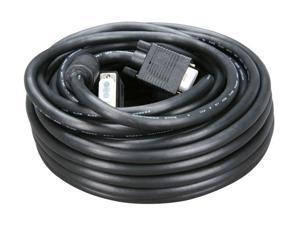 BYTECC VGA-50MF 50 ft. VGA Male to VGA Female Cable with Ferrites