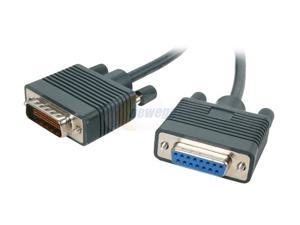 BYTECC Model CAB-X21FC-3M 10 ft. CISCO Router cable HD60/DB15 Male to Female Male to Female