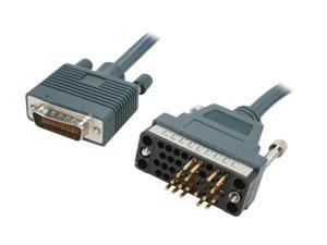 BYTECC Model CAB-V35MT-3M 10 ft. CISCO Router cable HD60/V.35 Male to Male Male to Male