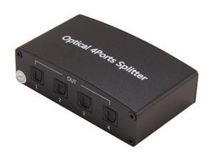 BYTECC OP-SP104 1 to 4 Optical Audio Splitter