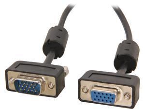 BYTECC SSVGA-6MF 6 ft. Micro SVGA Male Cable to Micro SVGA Female Cable HD15 with Ferrite Core