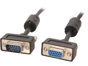 BYTECC SSVGA-25MF 25 ft. Micro SVGA Male Cable to Micro SVGA Female Cable HD15 with Ferrite Core