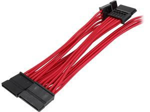 Corsair CP-8920187 2.46 ft. (0.75 m) Premium Individually Sleeved SATA Cable, Type 4 (Generation 3)