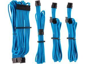 Corsair CP-8920218 Premium Individually Sleeved PSU Cables Starter Kit Type 4 Gen 4 - Blue