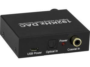 XtremPro 61089 192khz Digital to Analog Audio Converter