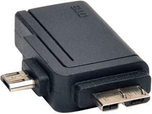 Tripp Lite U053-000-OTG 2-in-1 OTG Adapter USB 3.0 Micro B & USB 2.0 Micro B to USB A