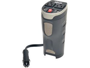 Tripp Lite 200W Car Power Inverter with 2 Outlets & 2 USB Charging Ports, Cup Holder Design (PV200CUSB)