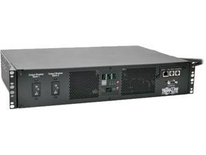 Tripp Lite ATS/Switched PDU, 7.4kW Single-Phase 230V Outlets (16 C13 & 2 C19), 2 IEC309 32A Blue Cords, 2U Rack-Mount (PDUMH32HVATNET)