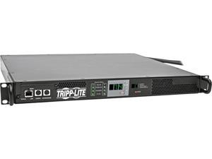 Tripp Lite Monitored PDU with ATS, 7.4K Watts 230V, 2 IEC309 32A Blue Inputs, 1U Rack-Mount Power (PDUMNH32HVAT)
