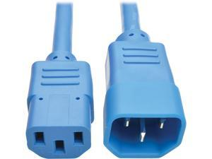 Tripp Lite Model P005-006-ABL 6 ft. Heavy-Duty Power Extension Cord, 15A, 14 AWG (IEC-320-C14 to IEC-320-C13) Male to Female