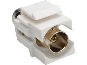 Tripp Lite BNC All-in-One Keystone/Panel Mount Coupler (F/F), 75 Ohms (A230-001-KP)