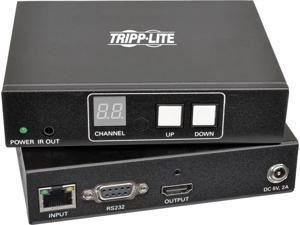 Tripp Lite HDMI/DVI Audio/Video with RS-232 Serial & IR Control Over IP Extender Kit, 1080p @ 60 Hz, 656 ft. (200 m) (B160-101-HDSI)
