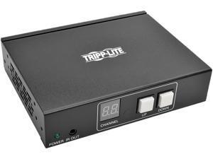 Tripp Lite HDMI/DVI Over IP Transmitter/Extender with RS-232 Serial& IR Control, Video & Audio, 1080p, 328 ft. (B160-001-HDSI)