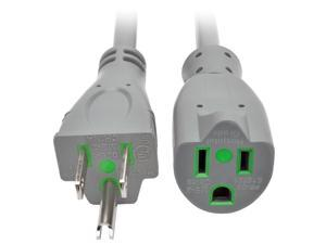 Tripp Lite 15ft Hospital Medical Power Extension Cord 5-15P 5-15R 13A Gray