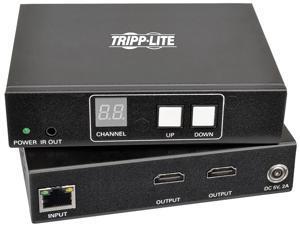 Tripp Lite 2-Port HDMI Over IP Extender Kit w/RS-232 Serial & IR Control TAA (B160-201-HSI)
