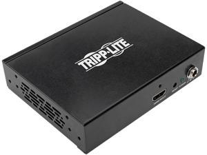 Tripp Lite 4-Port 4K 3D HDMI Splitter HDCP 2.2 for Ultra HD Video w/ Audio (B118-004-UHD-2)