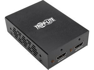 Tripp Lite 2-Port 3D 4K HDMI Splitter, HDMI 2.0, HDCP 2.2 UHD 4K @ 60Hz TAA (B118-002-UHD-2)